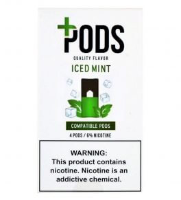 Juul Compatible Plus Pods Ice Mint