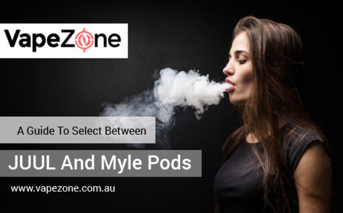 A Guide To Select Between JUUL And Myle Pods